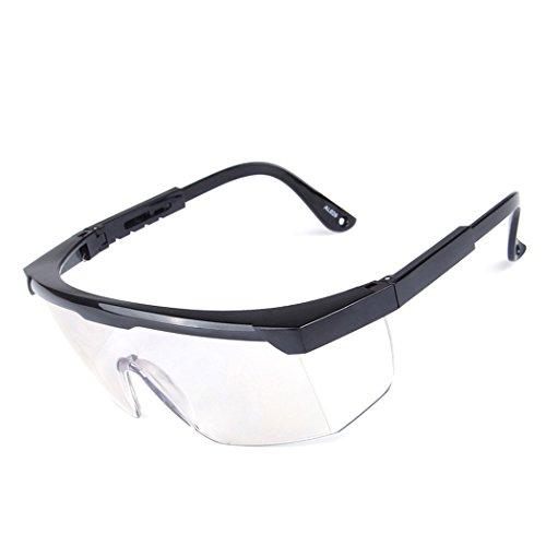 Lunettes de sécurité-à verres transparents-branches réglables individuellement – anticondensation, résistantes aux rayures-Safety Glasses