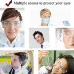 Lunettes de Protection, Sécurité de Lunettes Protection UV Anti-buée pour l'agriculture l'industrie et Le Laboratoire