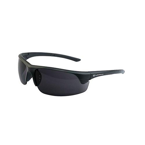 S&W – 110-162 – Lunettes corporelles – Lentille foncée – Noir – Taille unique