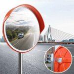 GHJA Lentille Grand Angle pour trafic extérieur Lentille Grand Angle pour la Circulation extérieure, Protection de sécurité et incassable Fonction de Surveillance du trafic de sécurité routière M