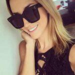 Lunettes de soleil carrées – Femme – Fille – Mode – Fashion – Élégantes – Idée cadeau – Carré – Rectangulaire – Monture noire – Verre noir