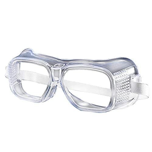 Adesign Goggle Heavy Duty Industri Industri Industrial Splash Splash Sécurité Lunettes de sécurité, Verres  Crystal Clear, conception anti-brouillard, résistance à fort impact (2 pack) Haute définitio