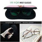 Da-Vid Bo-Wie Boîte à lunettes de protection compatible avec la plupart des tailles de lunettes