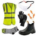 SAFEYEAR Bottes de sécurité imperméables [certifiées CE] – 8025 Free Sock S3 Chaussures de sécurité légères et légères, Noir 2, 37 EU