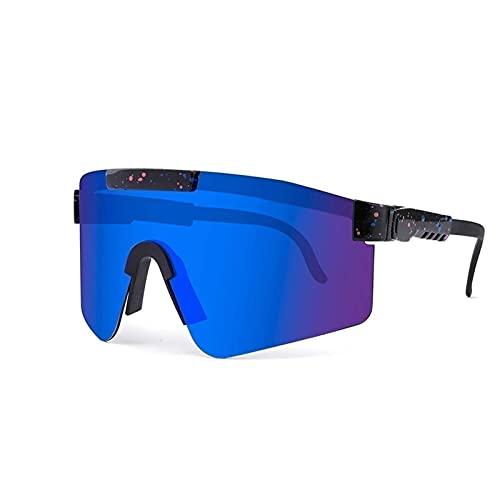 SNCAIZG Lunettes de Soleil de Sport polarisées, Lunettes de Cyclisme en Plein air Pit-Vipers, pour la Course à Pied, l'alpinisme, Le Golf, Les Vacances, la Course, la randonnée, la pêche