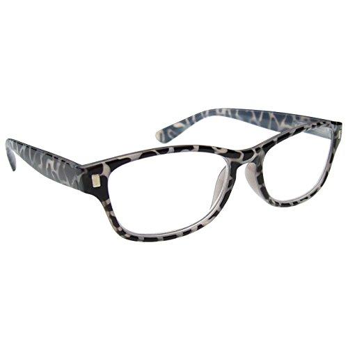 The Reading Glasses Lunettes de Lecture Écaille de Tortue Laiteux Noire Lecteurs Hommes Femmes R10-1 +3,50
