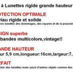 cityvision étui à Lunettes rigide grand et large grande hauteur multicolore Lunettes de Soleil Unisexe femmes hommes AC02093 (A)