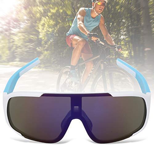 Changor UV-résistant Extérieur Cyclisme Lunettes, Filtre Éblouissement Nez Tampon Pitphre des Lunettes de Soleil pour Femmes Hommes