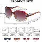 Duco Lunettes de Soleil polarisées pour Femmes 100% Protection UV – 2229 (Mauve)