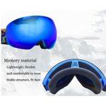 Hushuigeee Masque de Ski, Pack of 2, Snowboard Lunettes, Jeunes, Hommes, Ténacité Strong, 1 Pc (Color : D)