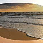 Julbo Beach Lunettes de Soleil polarisées Femme, Gris/Logo Bleu