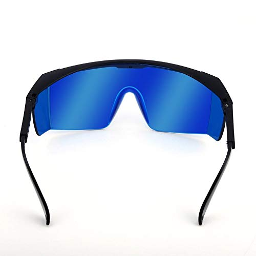 Lunettes de sécurité laser pour violet/bleu 200-450/800-2000 nm – Absorption ronde – Lunettes de protection laser