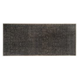 tapis d entree nuances luxury taupe 67 x 150 cm