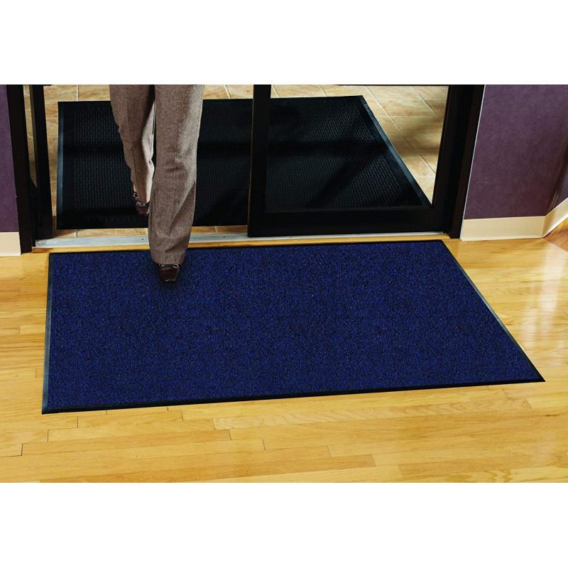 grand tapis d entree bleu paillasson grand taille bleu paillasson 2 4 m de long