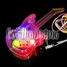 guitarra luminosa cotillon