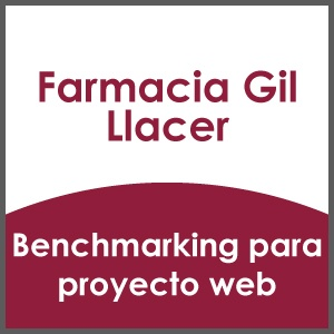 Benchmarking para proyecto web Farmacia Gil Llacer
