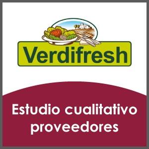 Estudio cualitativo proveedores Verdifresh