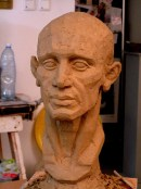 sculpture-head-cotswold-art-academy-2015