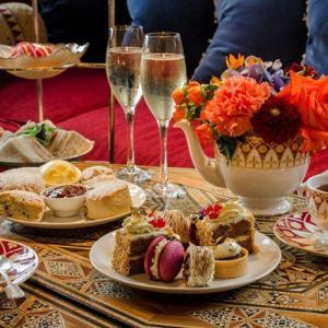 Afternoon Tea at Ellenborough Park by David Kelman