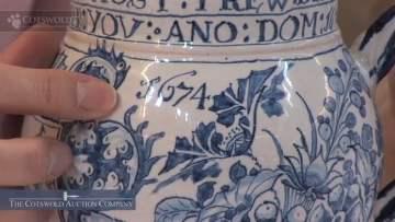 Charles II Delft Mug