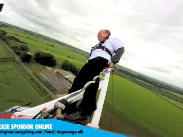 CHYP Charity Wing Walk