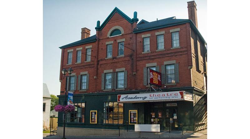 exterior shot of theatre