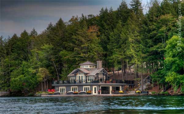 Muskoka Boathouse Architecture Muskoka Blog