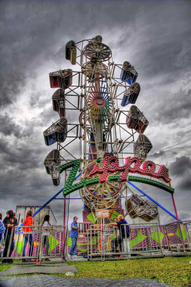 The Zipper Ride | Muskoka Blog