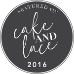 Cottage Luxe Boutique Event Rentals Raleigh Cake and Lace Badge 2016