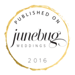 Featured on JuneBug Weddings 2016