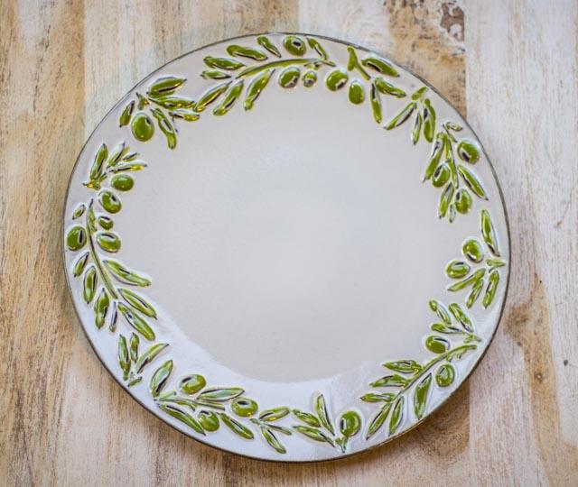 Tableware + Flatware, Olea Dinner Plate