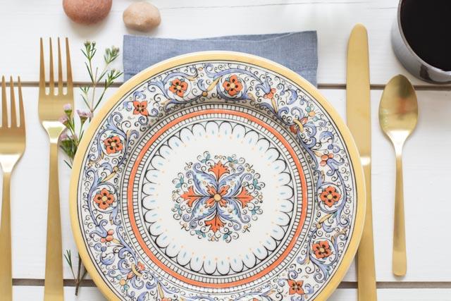 Tableware + Flatware, Mateo Salad Plate - Friendship Organic Salad/Dessert