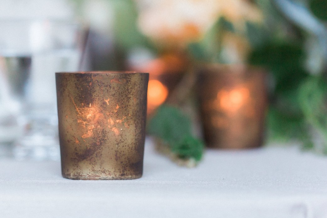 Details + Accessories, Urban Rustic Votive