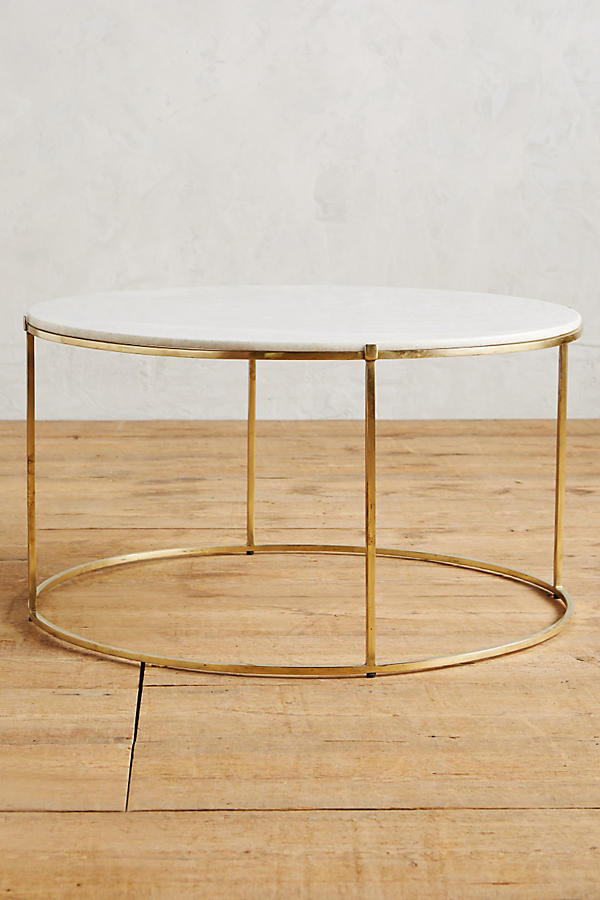 Tiffany Marble Cocktail Table