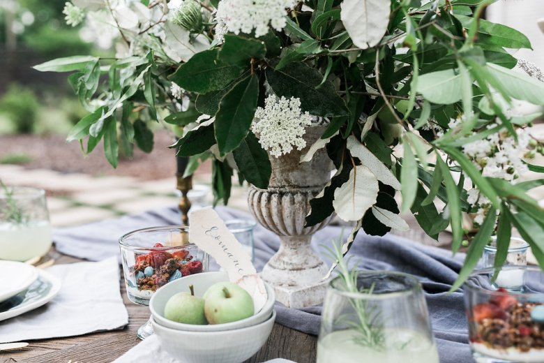 Feature on JoyWed An Intimate Affair - Tablescape