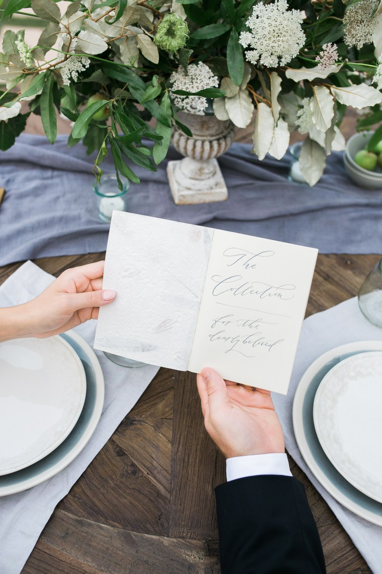 Feature on JoyWed An Intimate Affair- couple sharing letter