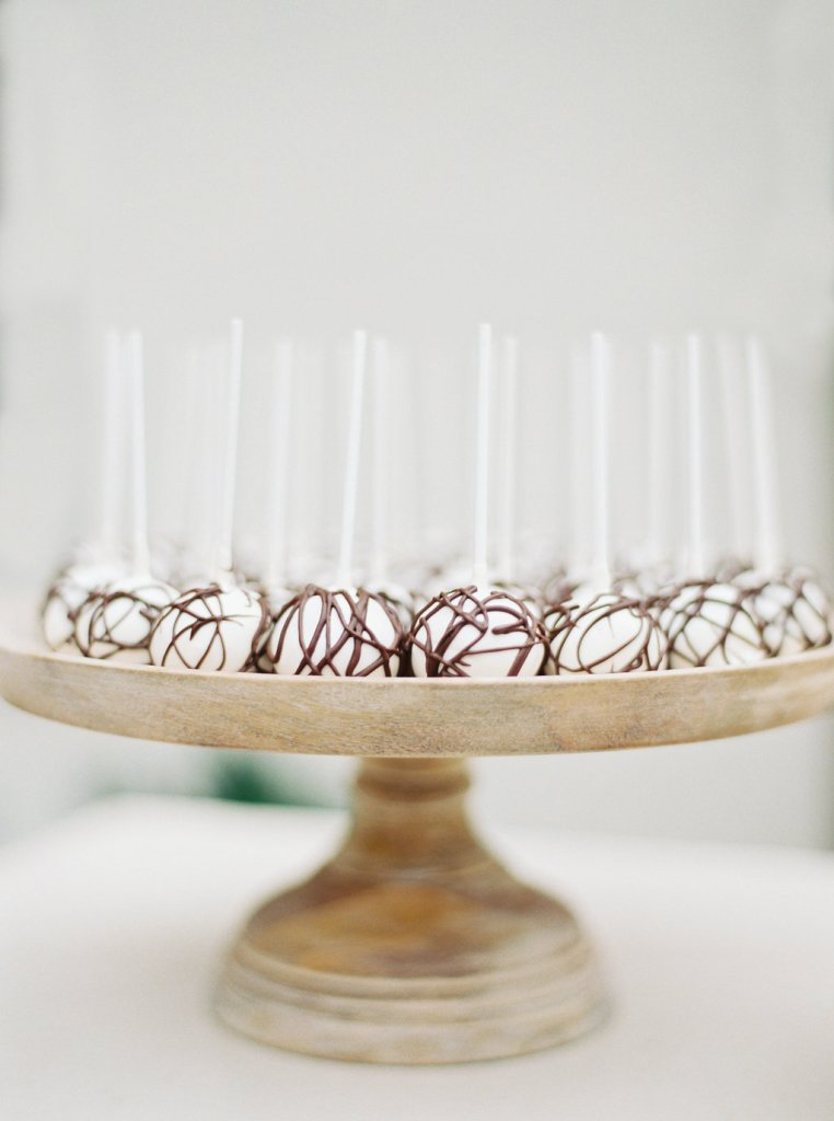 Details + Accessories, Bijoux Cake Stands, with cake pops