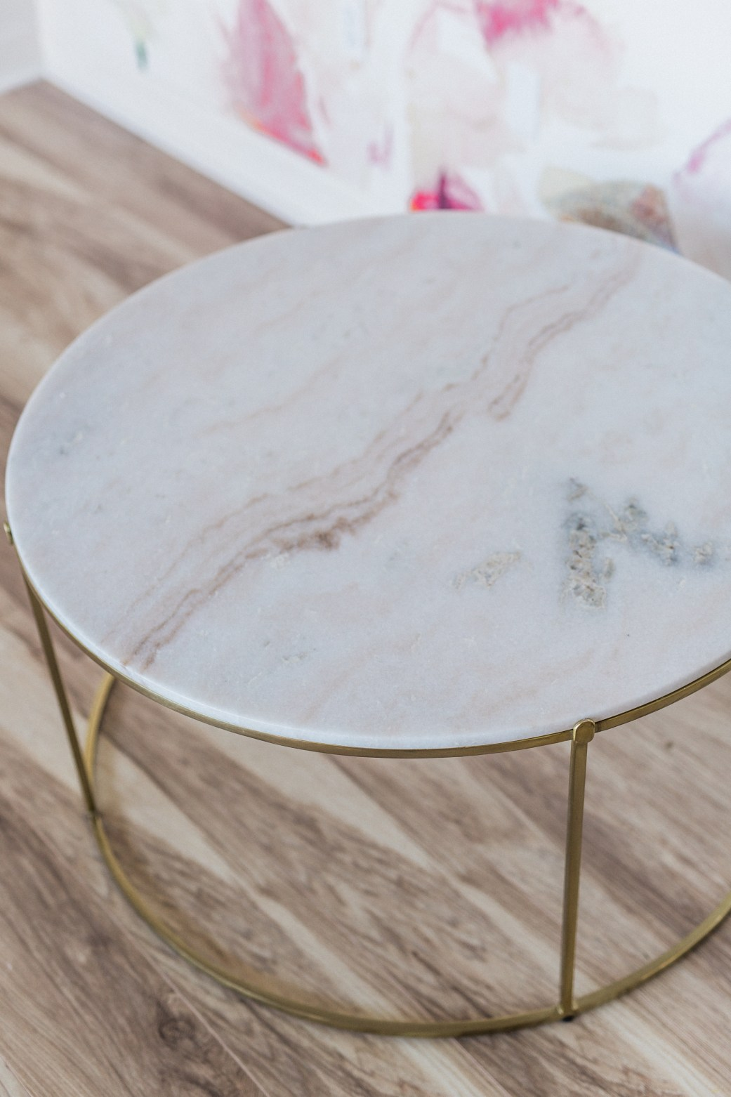 Accent Tables, Tiffany Marble Coffee Table
