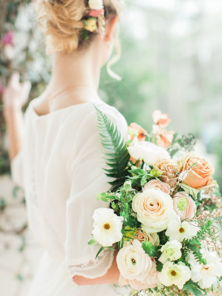 Bridal Pop Up Models and Flowers