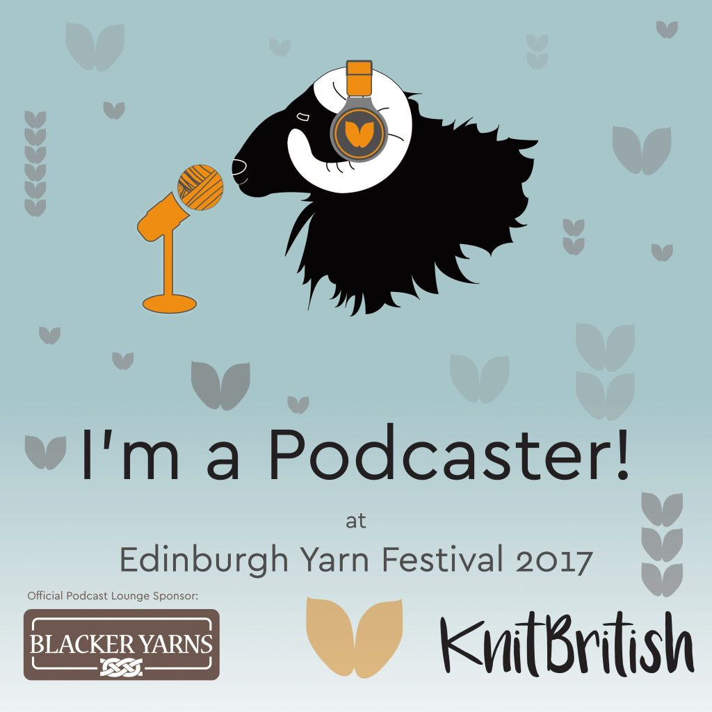 Cottage notebook podcast at EYF 2017