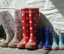 Wellies for all the family.