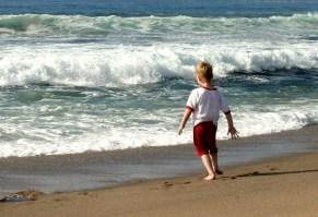 Child friendly beach at Bettystown