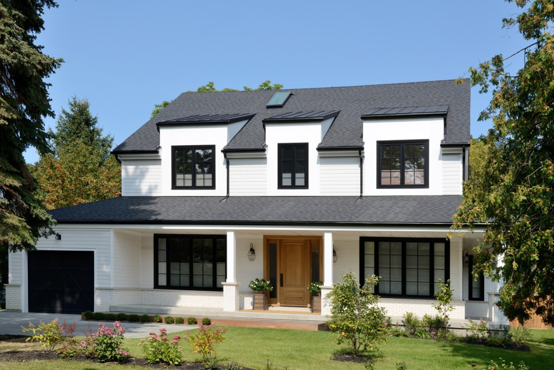 modern-farmhouse-exterior - Cottage style decorating ...