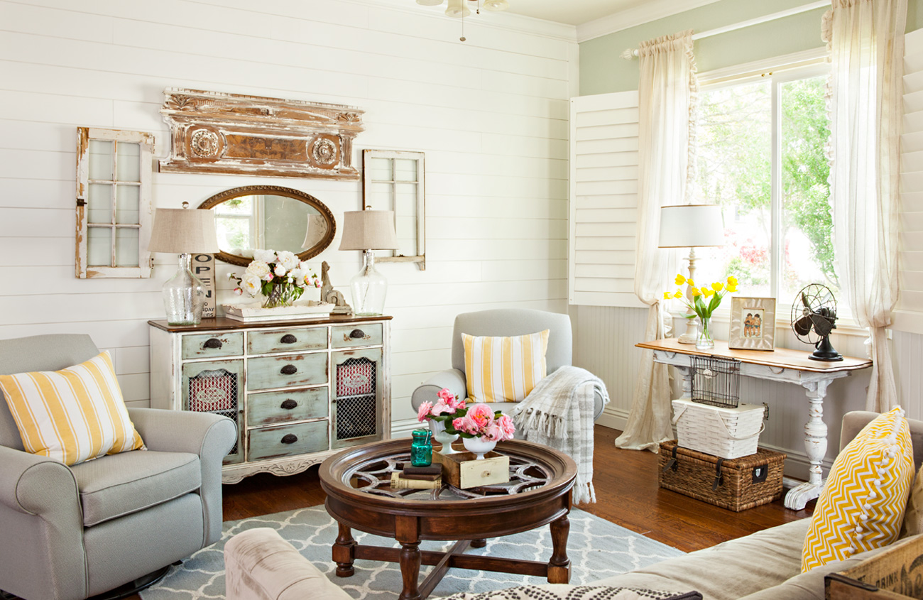 Give a New Home an Old Cottage Look with Architectural ... on Apartment Decorating Styles  id=80441