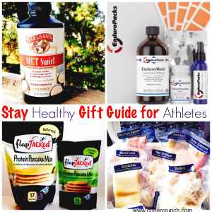 Stay Healthy Gift Guide for Athletes and Fitness Enthusiasts