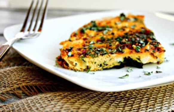 Turkey Kale Frittata