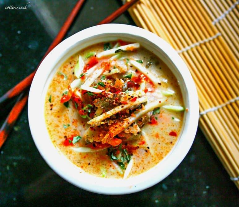 thai coconut cabbage (pale/vegan friendly)
