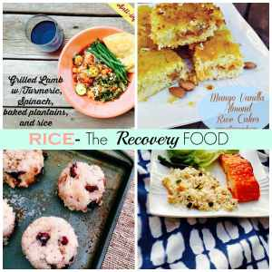 Why White Rice Makes a Nice Recovery Food