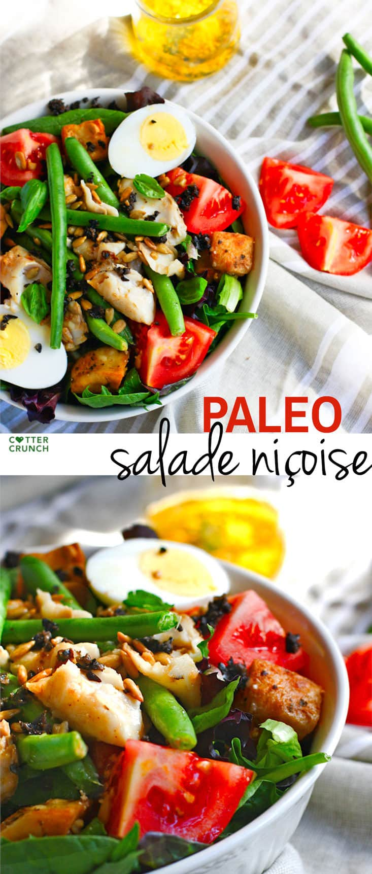Paleo Salade Niçoise + 2 Cooking Oils To Boost Nutrients