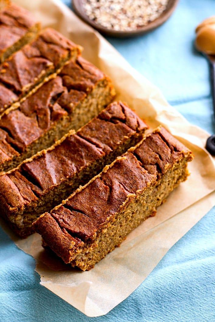 quinoa peanut butter banana bread